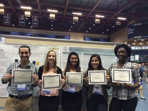 Research assistants at the 2016 URC.
