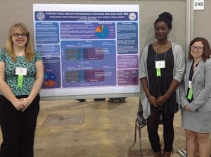Esther Ebuehi and Carolyn Sutter presenting at SRCD 2015.