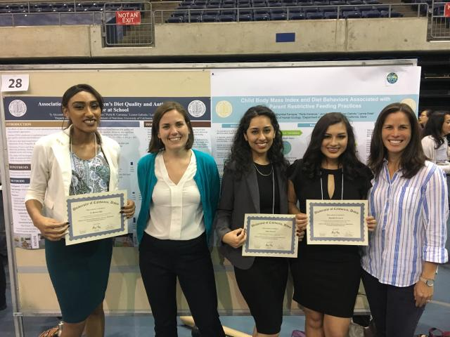 Part of Lab Team in the 2018 Undergraduate Research Conference